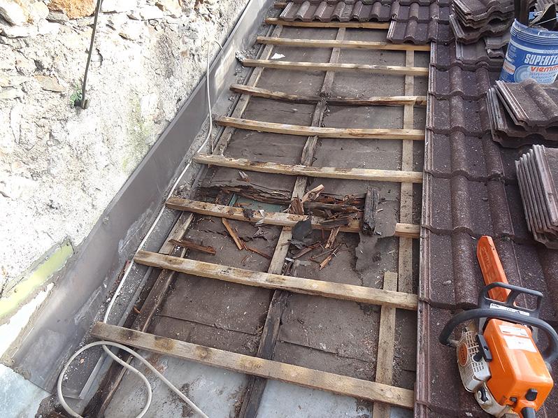 Reparaturservice/Dachwartung